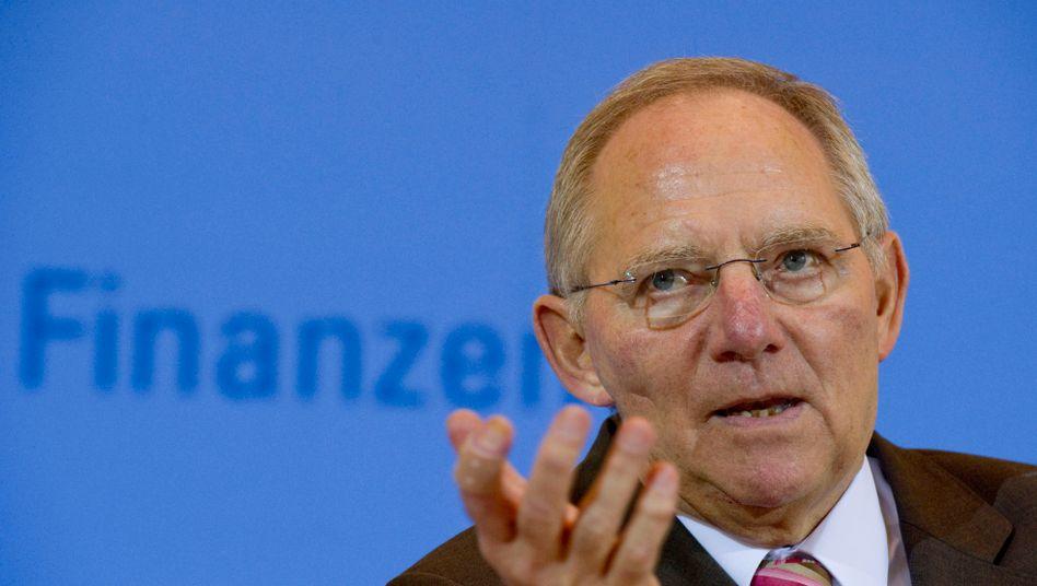 Klingelnde Kasse: Der Aufschwung beschert Minister Schäuble ansehnliche Mehreinnahmen