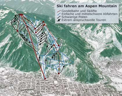 Ski fahren am Aspen Mountain: Der Hauptberg des Tals ist der perfekte Schneefänger