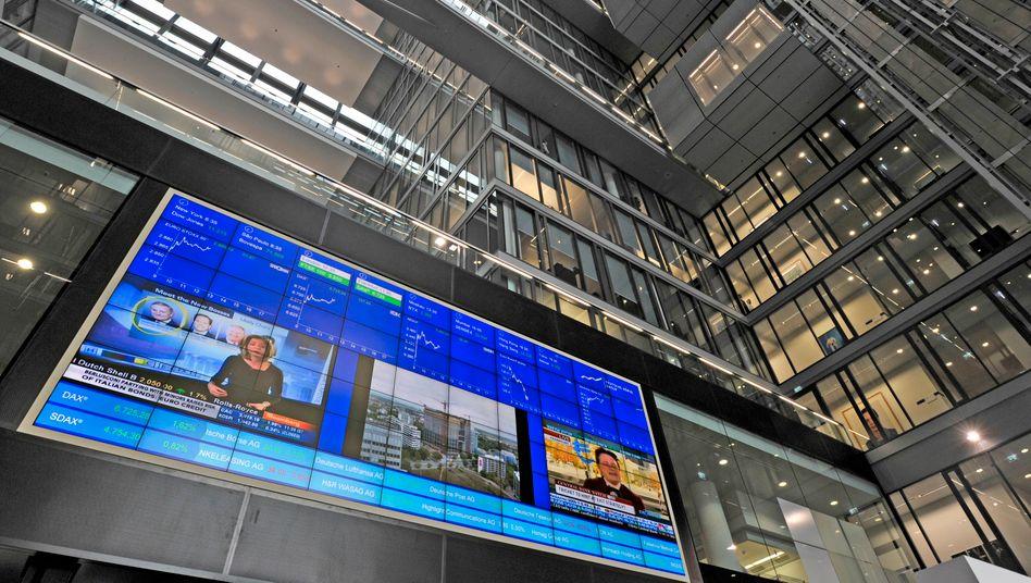 Auch alleine stark: Zentrale der Deutschen Börse in Eschborn