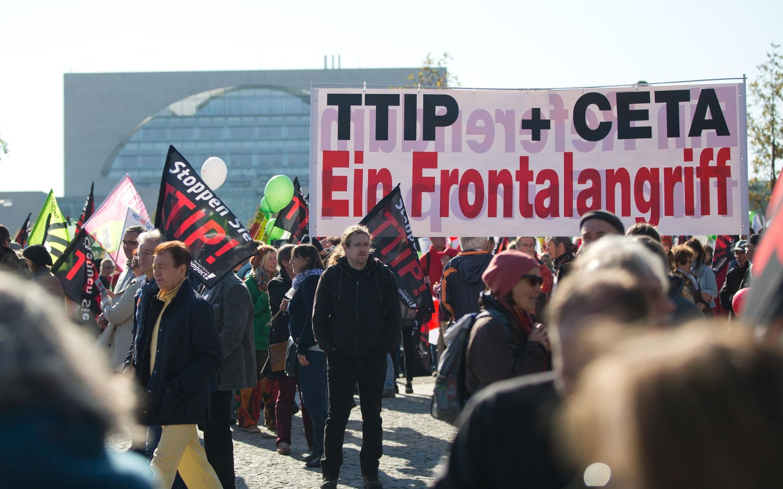 Berlin/ Demonstration/ gegen TTIP/ Ceta