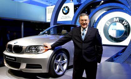 Verweigert Prognose: BMW-Chef Reithofer