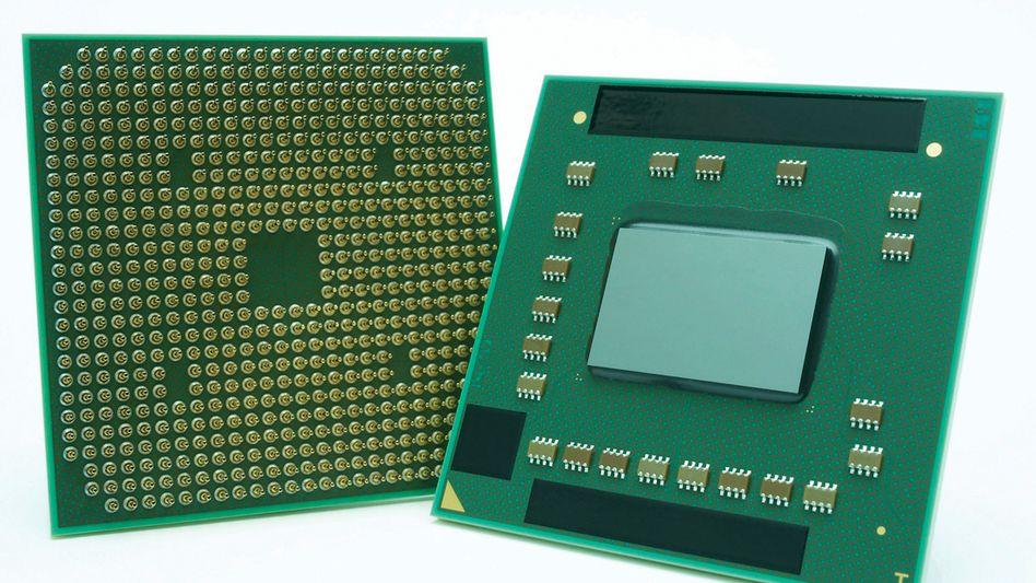 AMD-Prozessor der Serie Puma: Der Intel-Konkurrent legt besonders in China und Indien zu