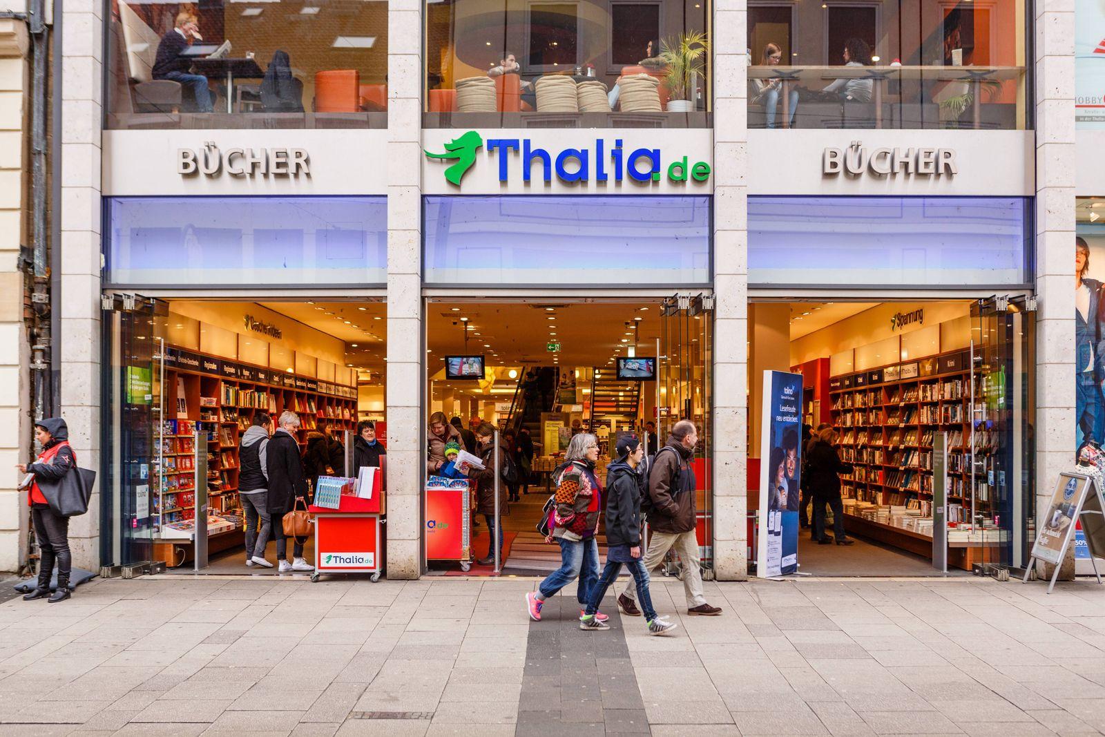 DEU Deutschland Hessen Kassel 12 03 2016 Filiale der Thalia Buchhandelskette