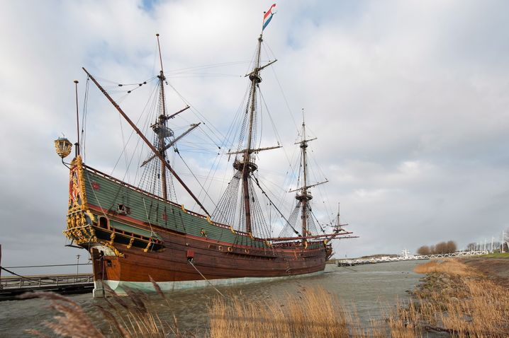 Nachbau eines VOC-Schiffs in den Niederlanden: Höhepunkt der Konzernmacht, aber kaum technische Innovation