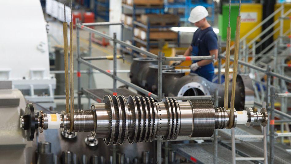 Maschinenbau: In Deutschland eine Schlüsselindustrie (Archiv: Siemens). Doch auch Italien hat mit der IMA interessante Unternehmen aus der Branche zu bieten
