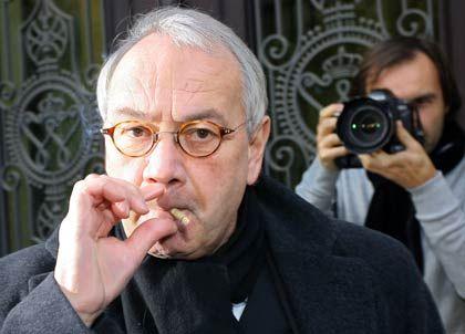 Rauchpause: Ex-VW-Personalmanager Klaus-Joachim Gebauer