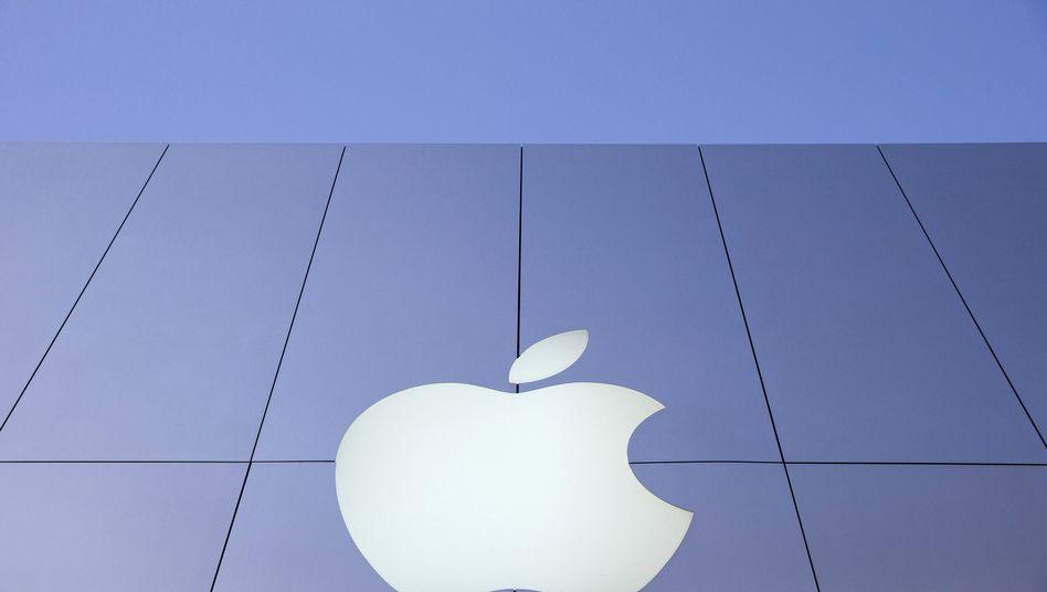 Apple-Logo: Samsung ist der US-Marke ein Dorn im Auge. Entsprechend hart attackiert es den Gegner auch vor Gericht