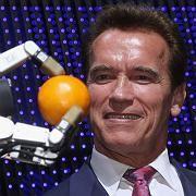 Sympathieträger mit Maschinenkenntnis: Der kalifornische Gouverneur Arnold Schwarzenegger war zu Gast