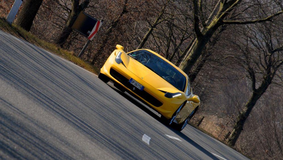 Ferrari 458 Italia: Betont kraftvoll