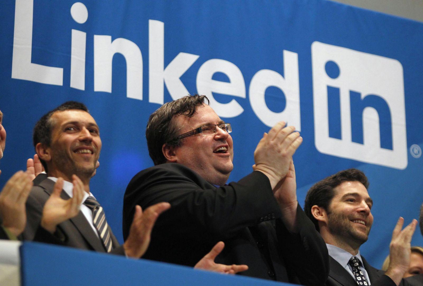 LinkedIn feiert Börsenstart / Börsengang