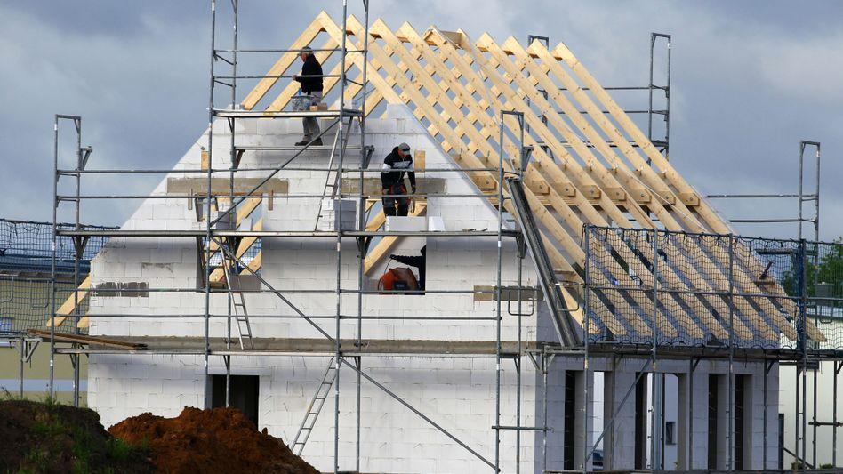 Der Traum vom Eigenheim: Immer seltener greifen Bauherren auf Darlehen von Bausparkassen zurück