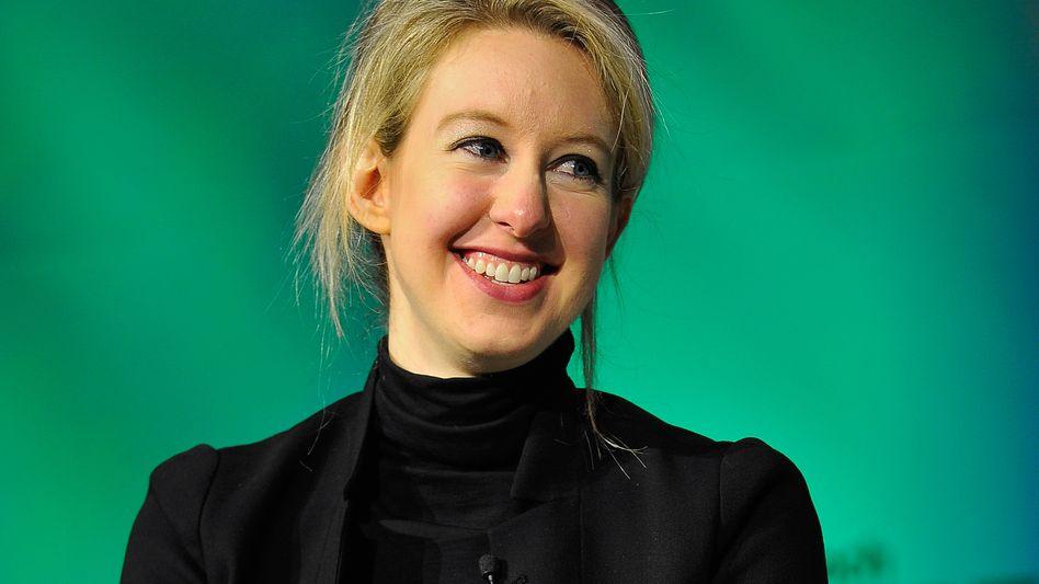 Theranos-Gründerin Elizabeth Holmes: Die 30-Jährige hat für ihr Diagnostik-Unternehmen zuletzt weitere Finanzspritzen bekommen - unter anderem von Larry Ellison