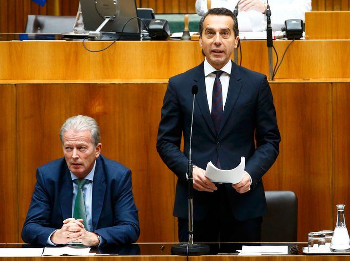 Österreichs neuer Bundeskanzler Christian Kern muss mehrere große Reformprojekte auf den Weg bringen