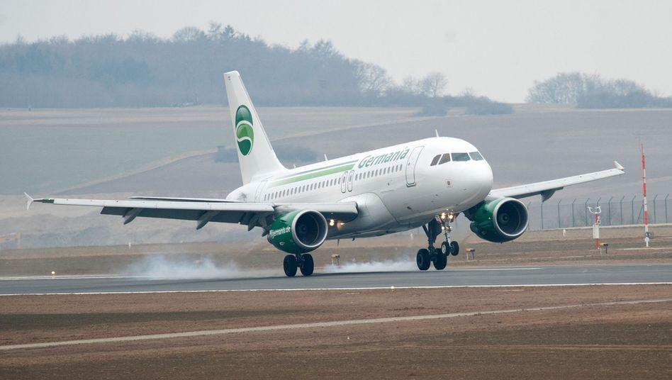 Die Fluggesellschaft Germania zieht vor Gericht