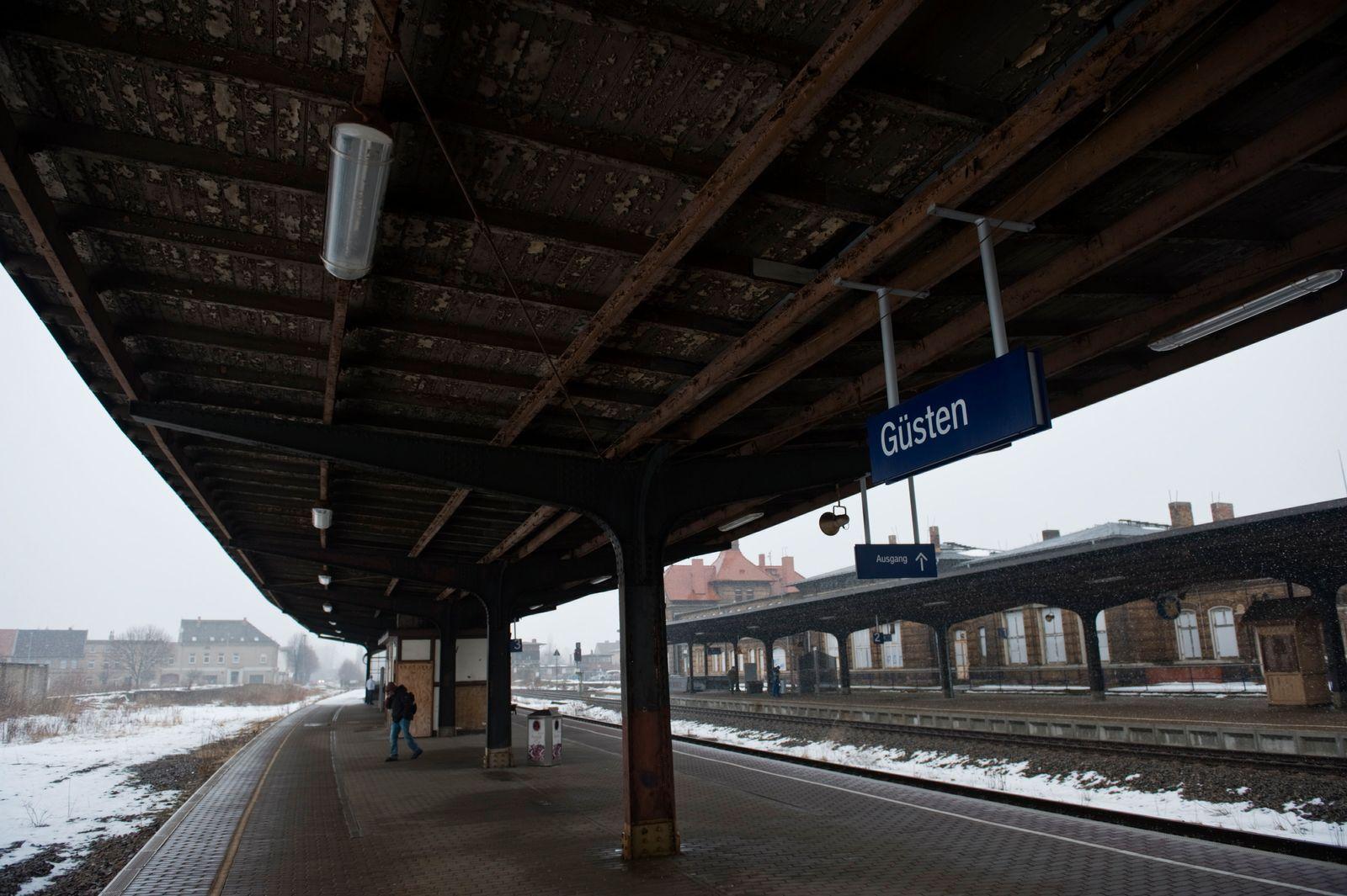 NICHT VERWENDEN Bahnhof Guesten / Reginalbahnhof
