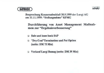 """Dokument 4: """"Durchführung von Asset Management Maßnahmen zur 'Ergebnissverbesserung'"""""""