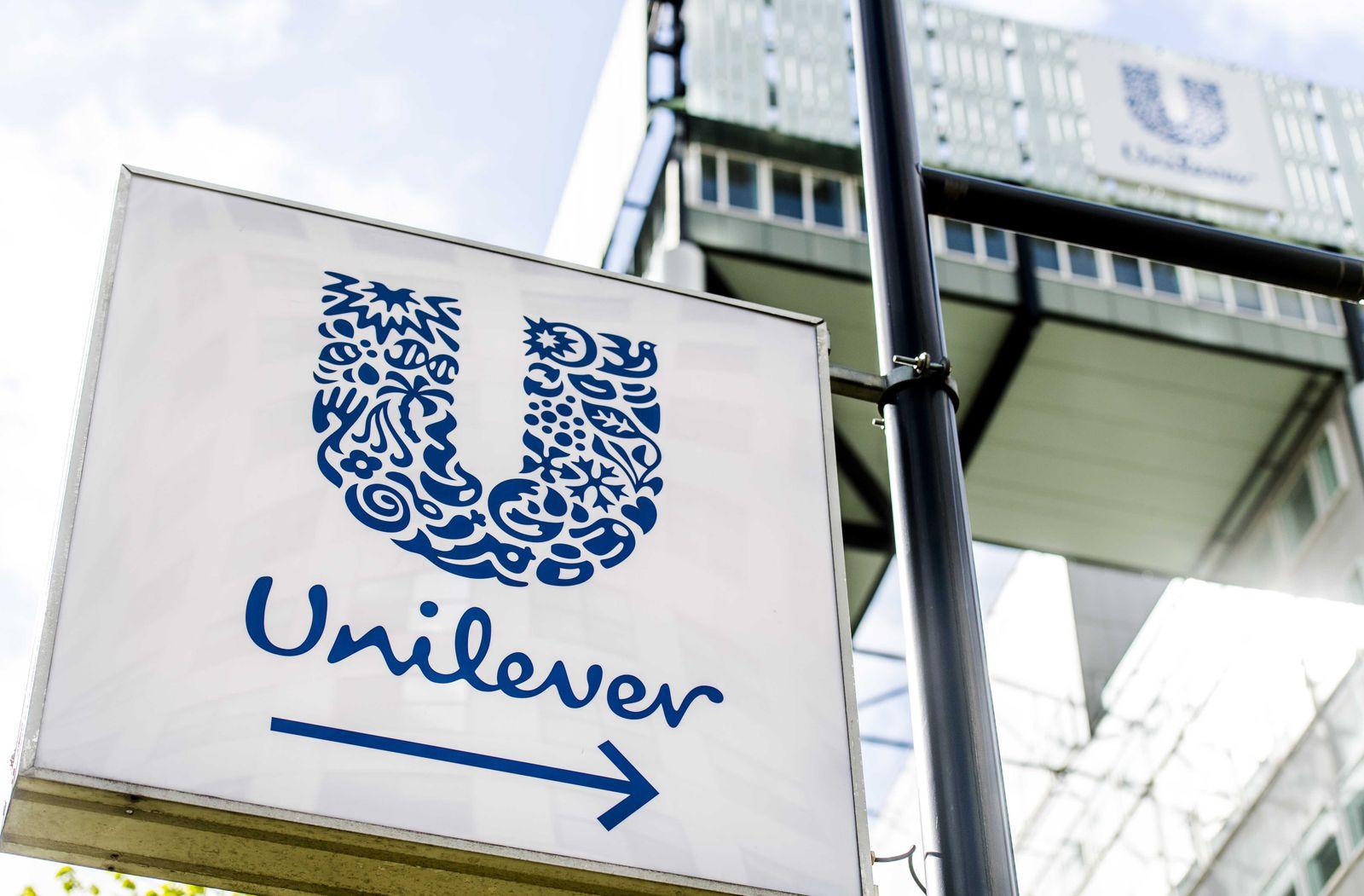 Unilever Q3 trading statement, Rotterdam, Netherlands - 06 Apr 2017