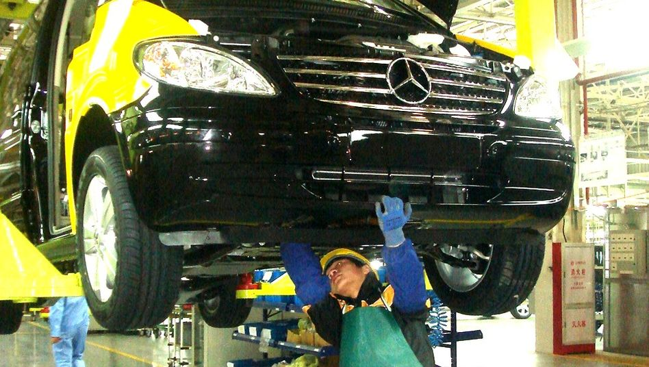 Mercedes-Produktion in Fujian: Troska soll für Belebung im China-Geschäft sorgen