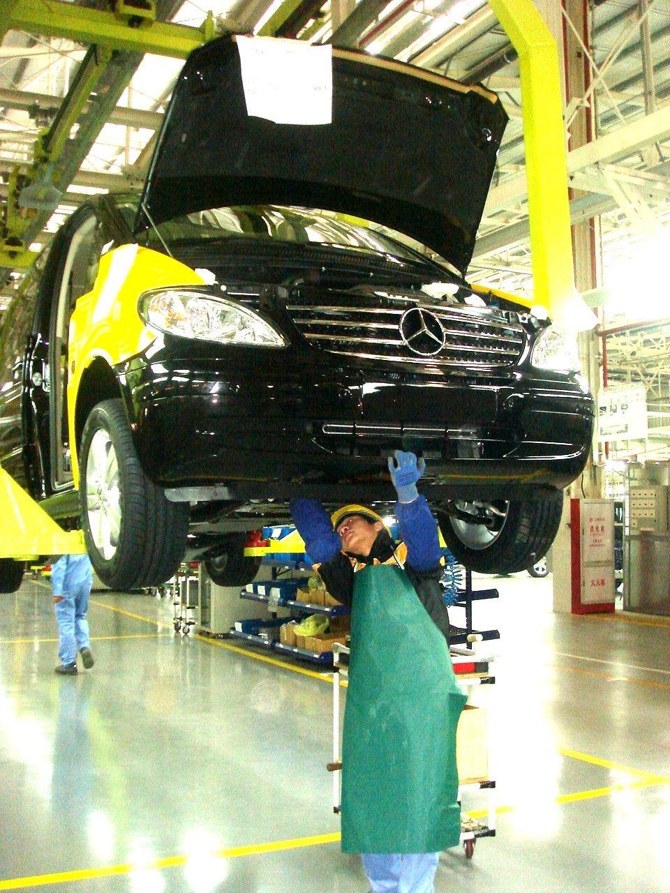Daimler im Ausland / Fujian, China