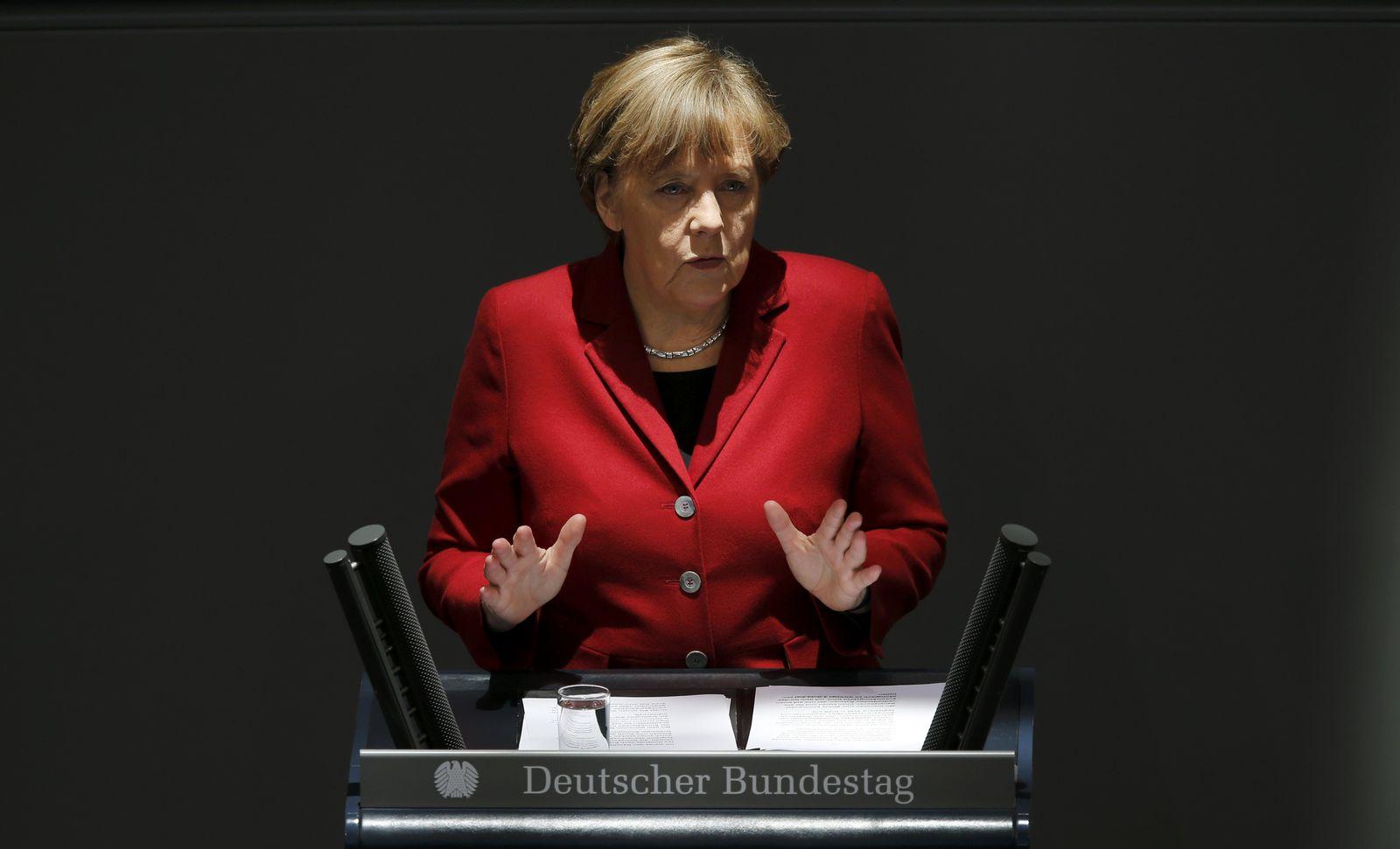 Merkel Bundestag