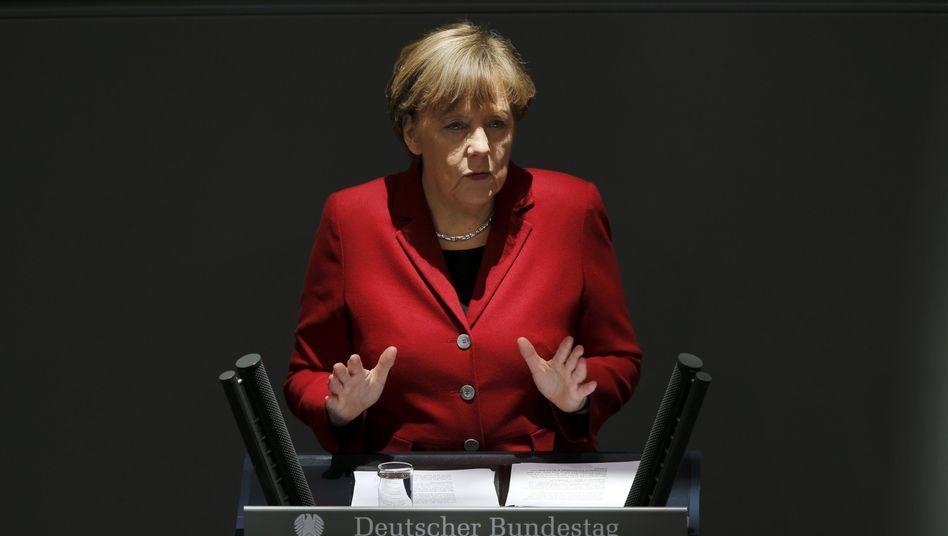 """Kanzlerin Merkel: """"Kein Treffen in kleinem Kreis kann oder wird die Einigung in der Eurogruppe ersetzen"""""""