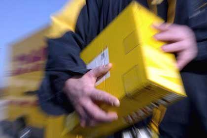 Der DHL-Paketdienst schwächelt noch in den USA