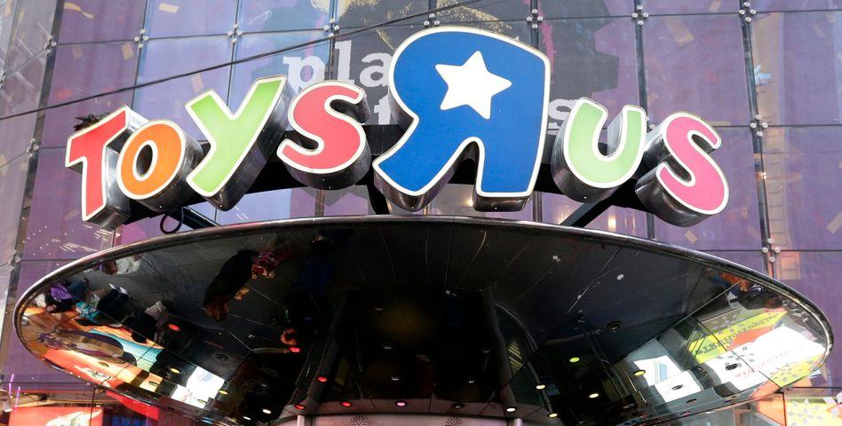 Eine Toys'R'Us-Filiale in New York - sie wird nun wie 734 weitere Geschäfte in den USA geschlossen