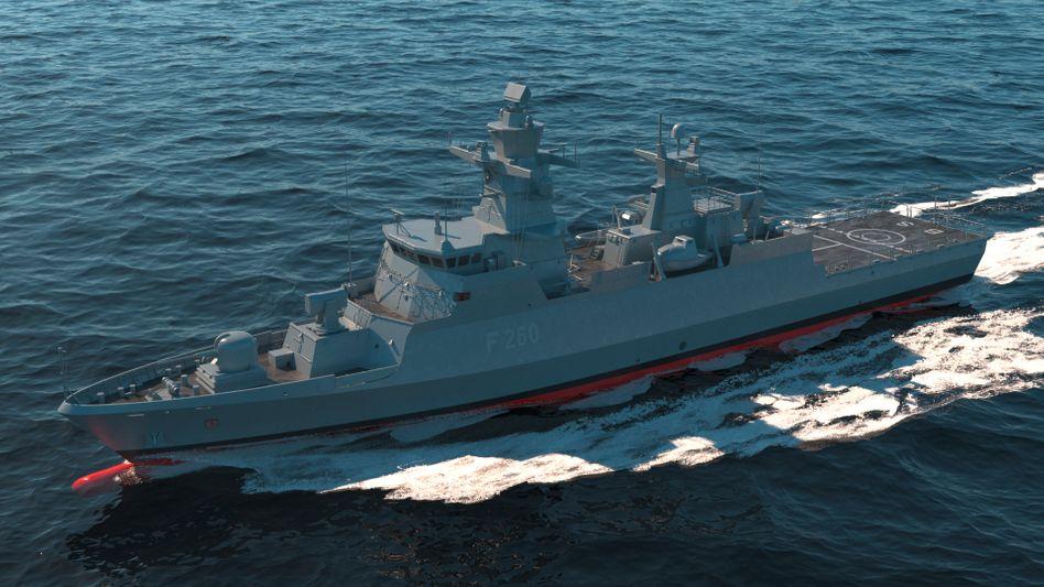 Umworben: Hensoldt (hier ein Kriegsschiff der Klasse K130) provoziert ein Bietergefecht