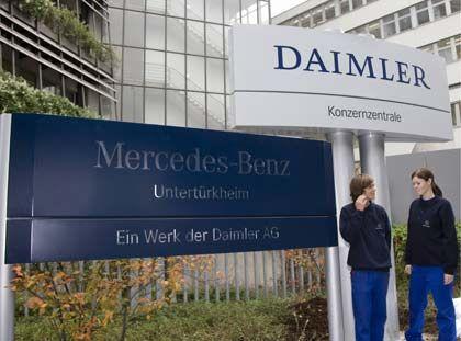 Belastung durch Trennung: Der Chrysler-Verkauf lässt Daimler in die Verlustzone rutschen