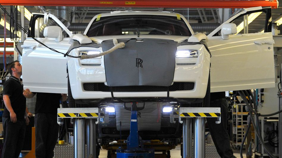 Rolls-Royce-Produktion nahe Chichester in Südengland (Bild Archiv)