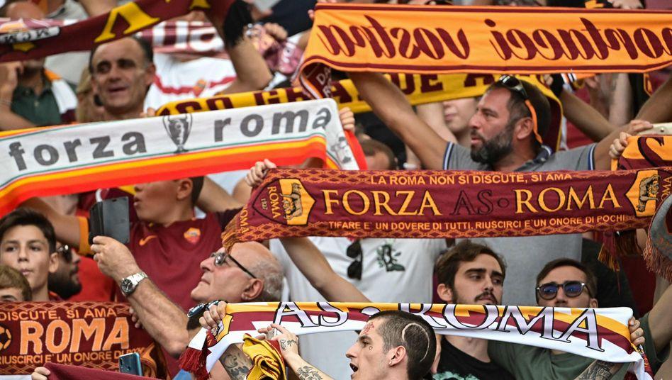 Fans von AS Rom