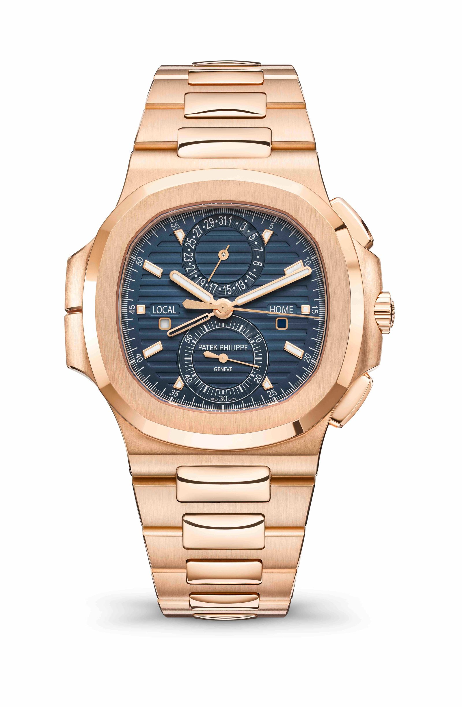 SIHH | Watches and Wonders | Patek Nautilus Travel Time Chronograph