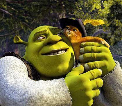 """Trickfilm-Titelheld Shrek: """"Unsere Augen waren größer als unser Magen"""""""