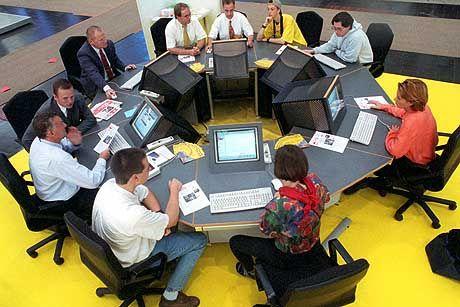 Kommunikationsort Team: Geniales jedoch entsteht meist im stillen Kämmerlein