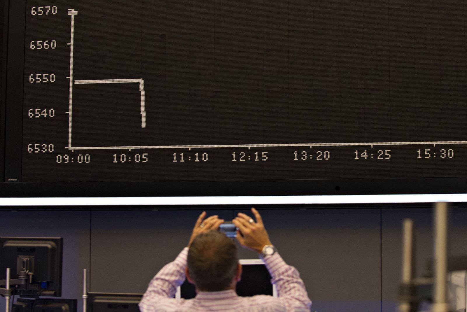 Frankfurter Börse - technischer Defekt