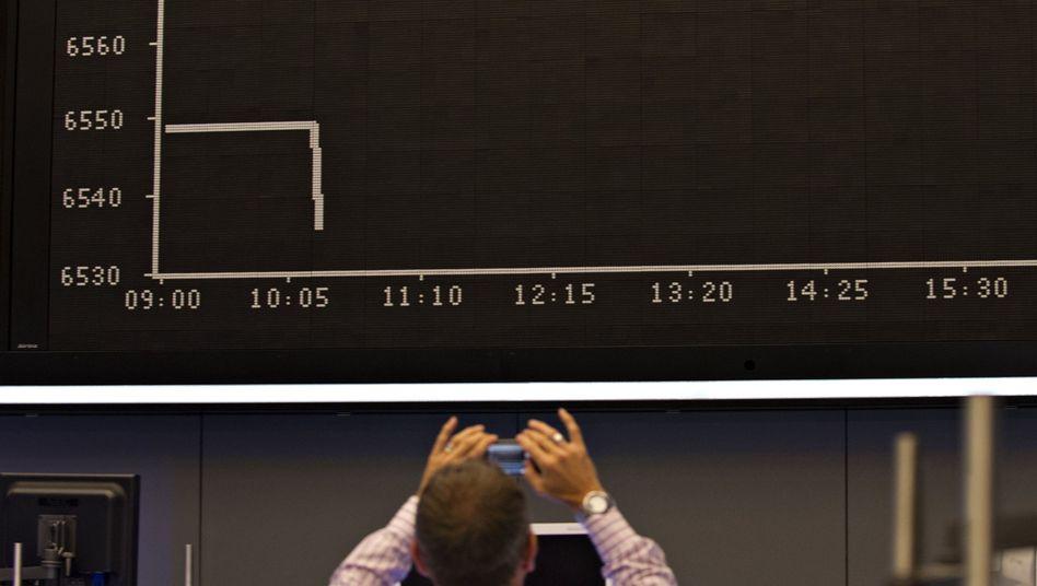 Kurstafel an der Börse: Schon oft kritisierten Unternehmen den Druck, den die Börse - genauer, die Investoren - auf sie ausüben