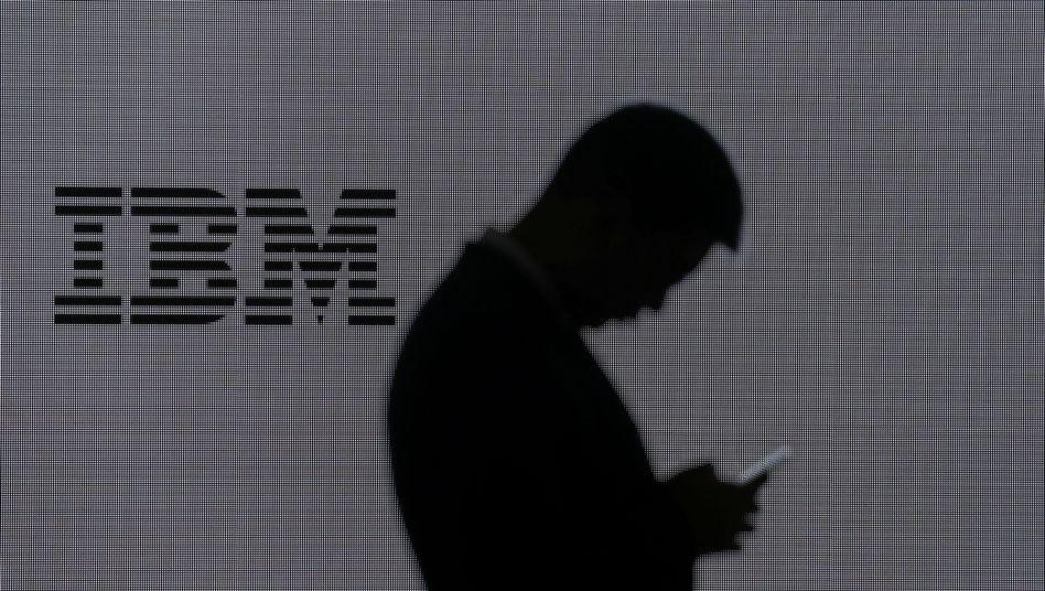 """IBM: Bei """"Big Blue"""" herrschen derzeit die Grautöne vor"""