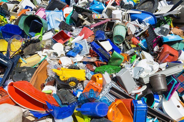 Plastikmüll: Sortiert fürs Recycling