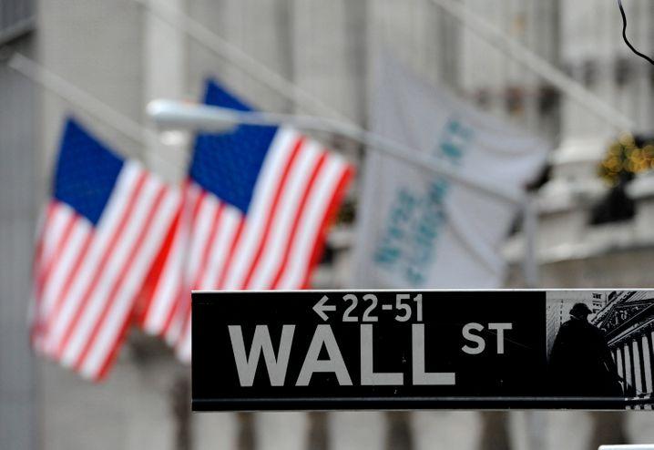 Synonym für die weltweite Finanzbranche: Die New Yorker Wall Street