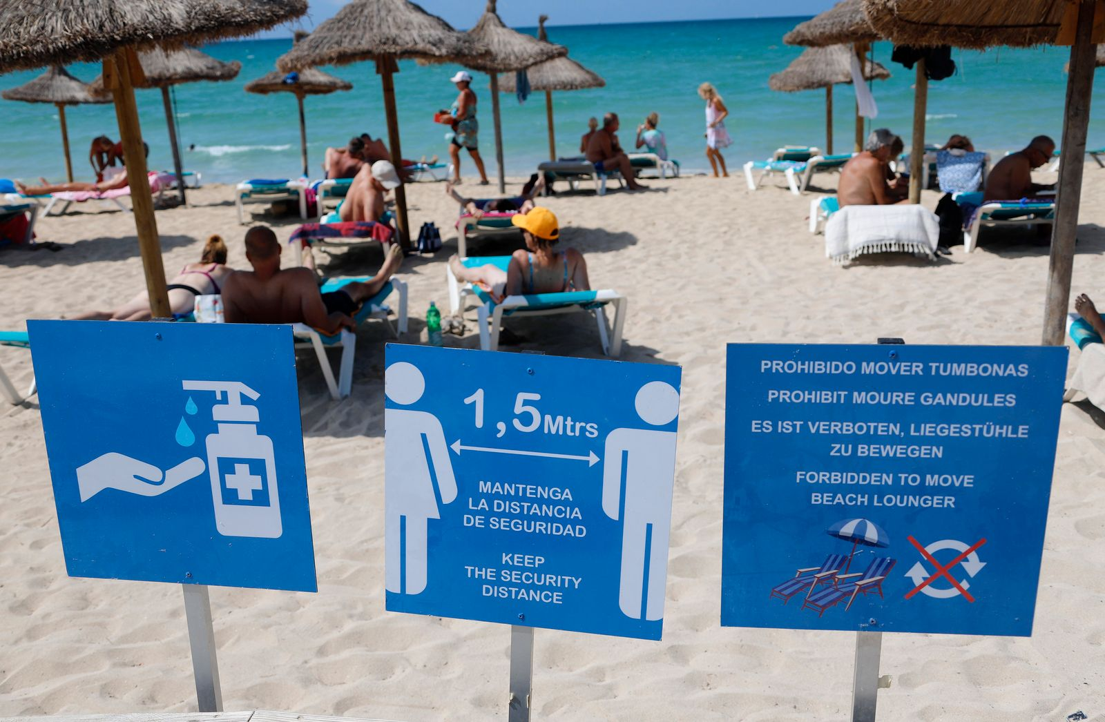 Mallorca als Risikogebiet wegen hoher Corona-Zahlen