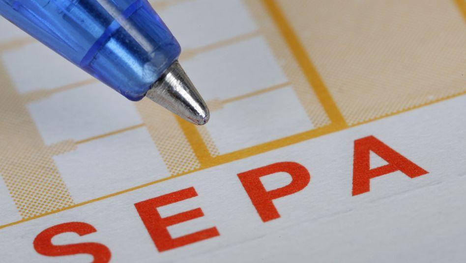 Sepa kommt später: Zu groß ist die Skepsis und Saumseligkeit bei der Umsetzung