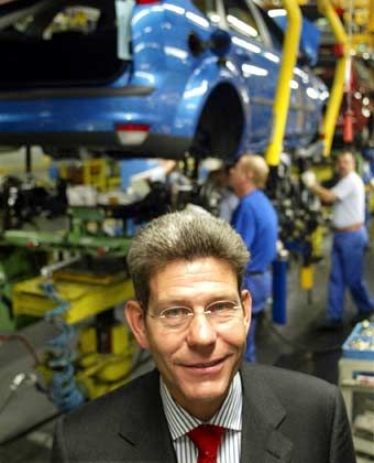 Hofft auf den neuen Mondeo: Ford-Deutschland-Chef Mattes