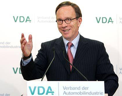 """""""Das Tempo beschleunigen"""": VDA-Präsident Wissmann"""