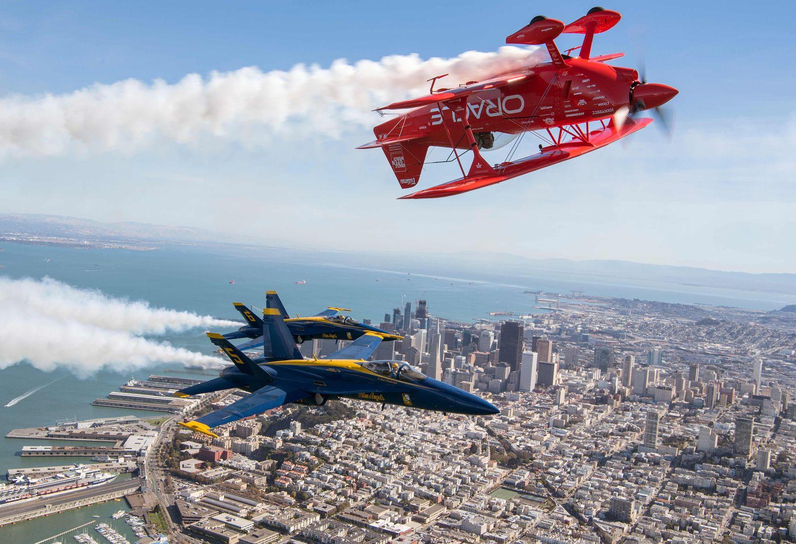 San Francisco / Flugshow