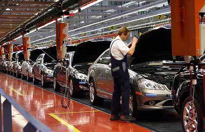 """Mercedes-Werk Sindelfingen: """"Ohne die Autoindustrie hätte das deutsche Wirtschaftswunder schlicht und ergreifend nicht stattgefunden"""""""
