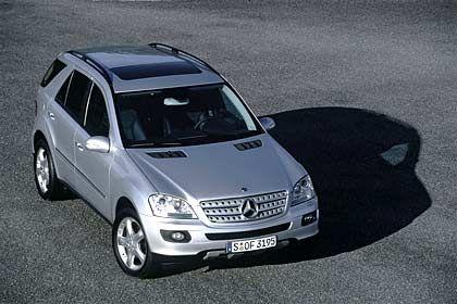 Breiter, flacher, kantiger: Mercedes M-Klasse, neues Modell