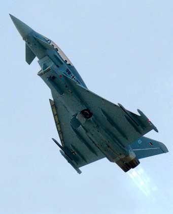 Eurofighter: Entscheidung ohne Vertragsvorlage