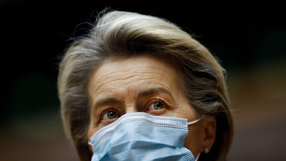"""""""Der Vertrag ist glasklar"""": EU-Kommissionspräsidentin Ursula von der Leyen verlangt Impfstofflieferungen von Astrazeneca"""