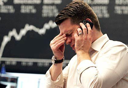 Es tut weh: Steigende Kurse machen nur denen Spaß, die Aktien haben