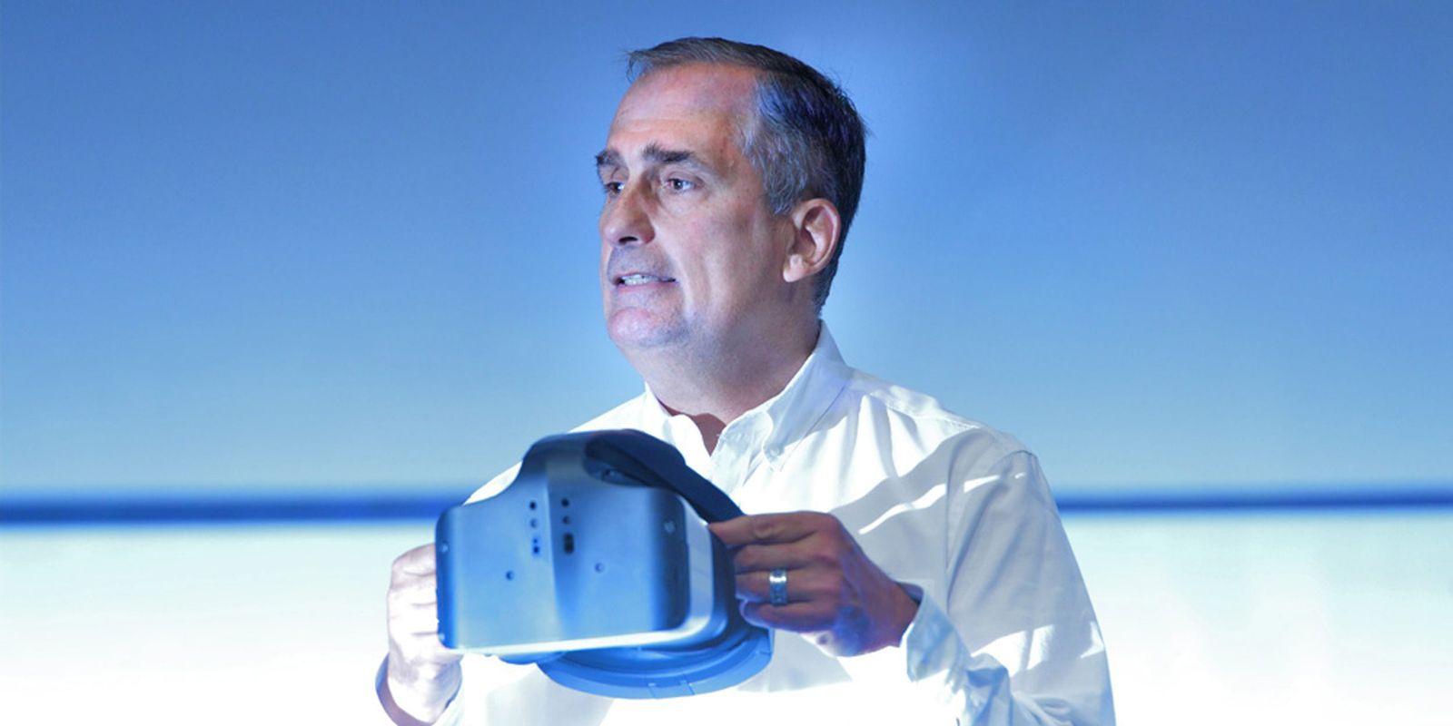 Intel presents virtual reality headset Project Alloy